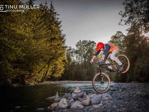 Bikeshooting mit Manuel Scheidegger