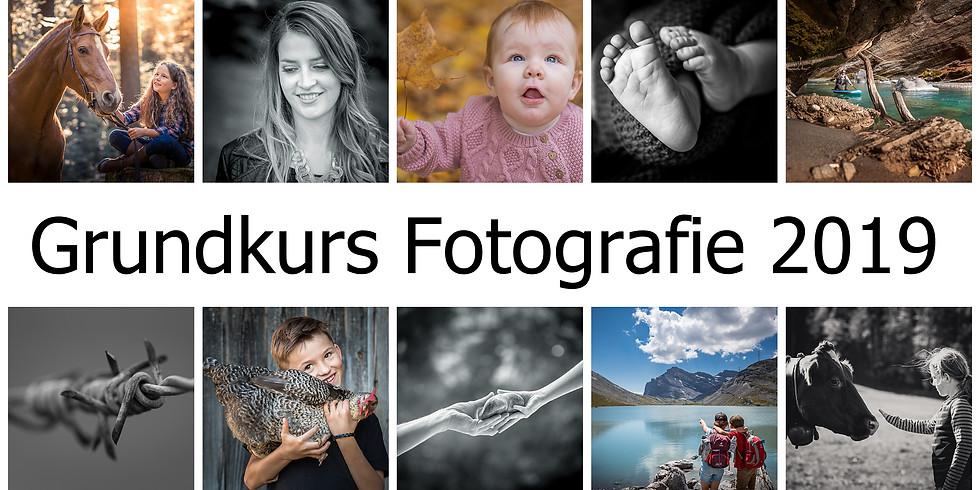 Fotografie- Grundkurs 2019