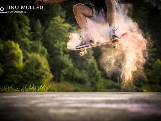 Skatefotoshooting mit Gian Simmen