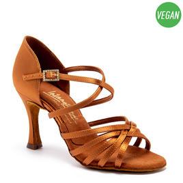 Flavia Tan Satin Vegan