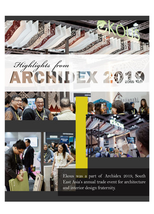 Highlights from Archidex 2019