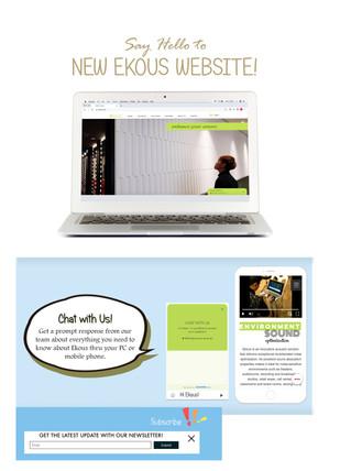 Say Hello to Ekous New Website!