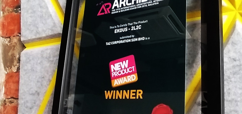 2L2C - New Product Award ARCHIDEX 2018