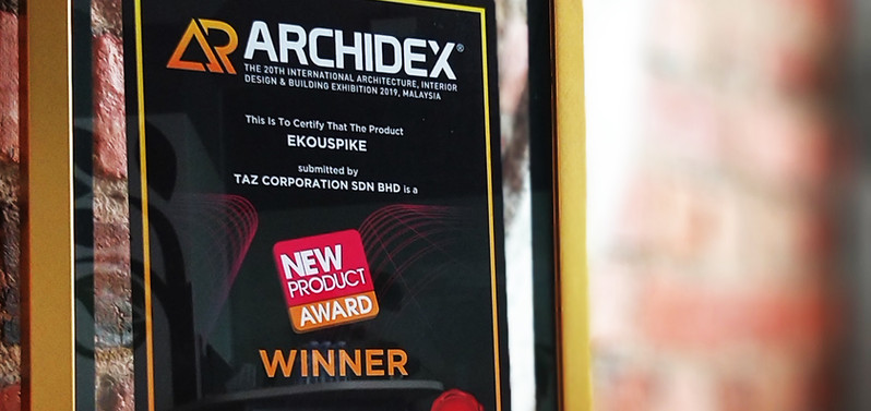 Ekouspike - New Product Award ARCHIDEX 2019