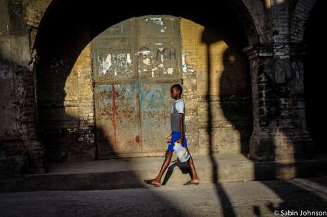 En bas la ville de Jérémie-© Johnson Sabin