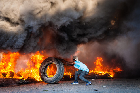 Manifestation en Haïti-Johnson Sabin