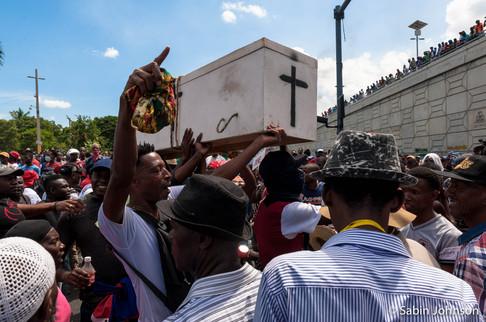 Manifestion _Haïti-Johnson Sabin