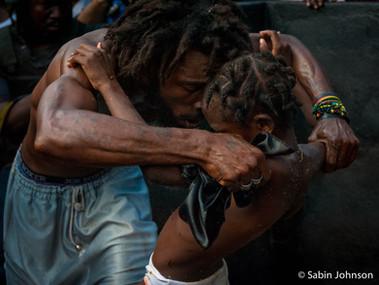cérémonie vodou Haïti-Johnson Sabin