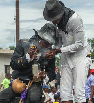 Vaudou Haïti, gédé  © Johnson Sabin