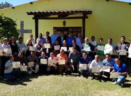 1era Capacitación de Facilitadores en Huehuetenango
