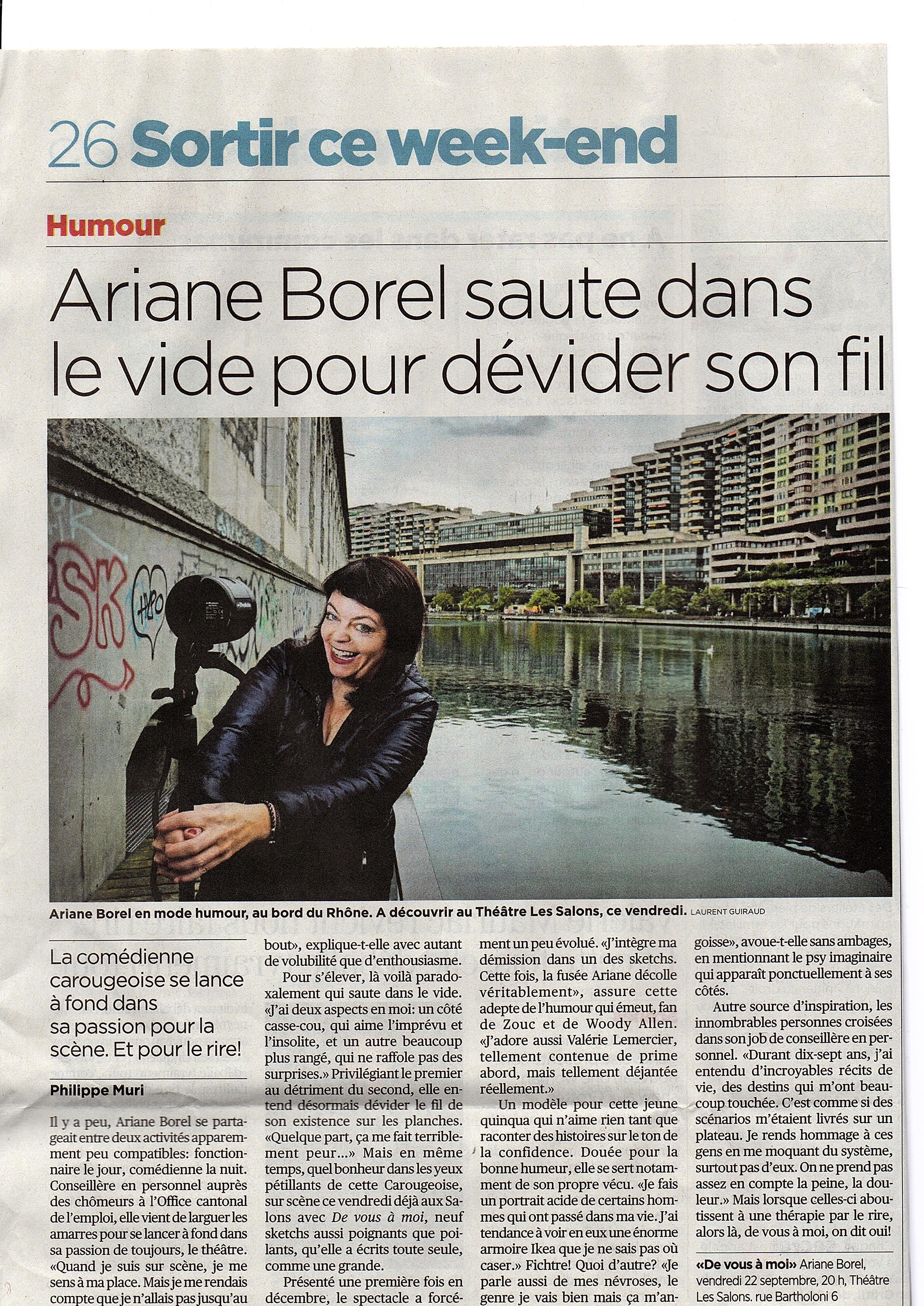 Ariane Borel De vous à moi