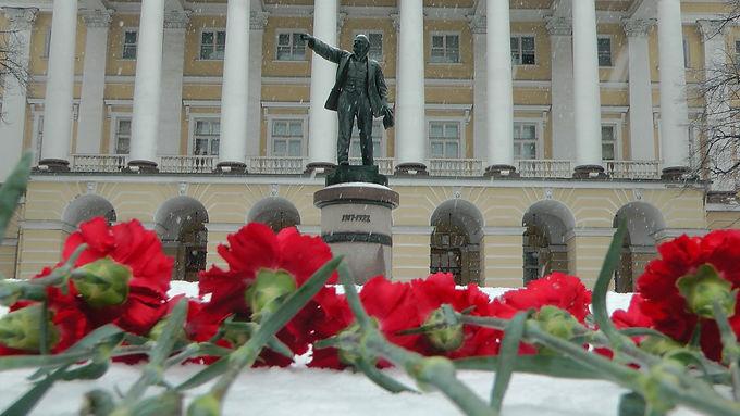 «Ленин жил, Ленин жив, Ленин будет жить!»