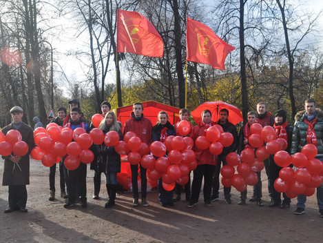 Продолжаем дело Ленинского комсомола!