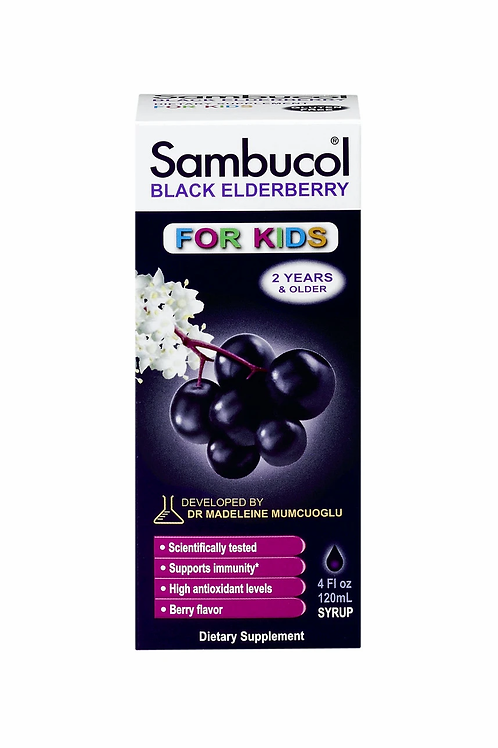 Sambucol For Kids 120ml Syrup