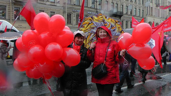 Коммунисты Центрального района отметили Первомай!