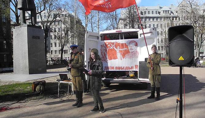 Митинг-концерт в Центральном районе к 72-й годовщине Великой Победы!