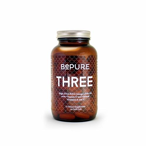 BePure Three - Omega 3 Fish Oil