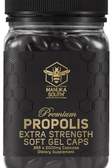 Manuka South Propolis Extra Strength 2000mg SoftGel Capsules 365