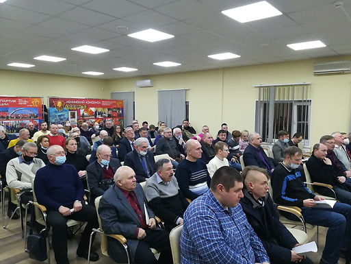 Состоялся II Пленум Санкт-Петербургского горкома КПРФ