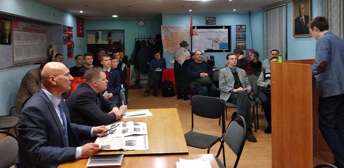Подготовка к муниципальным выборам в Центральном районе.