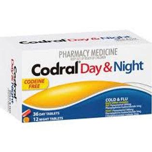 Codral Day & Night Codeine Free Tablets