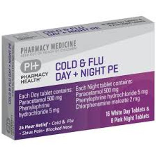 PH Cold & Flu Day & Night Tablets