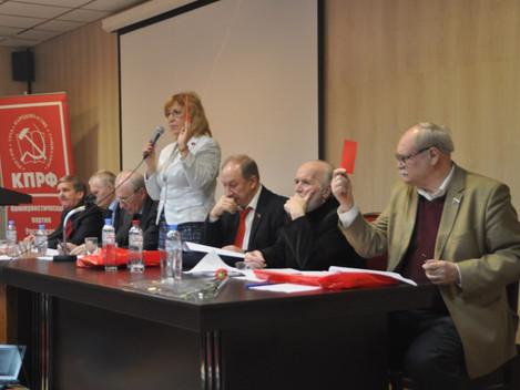 Пленум горкома: Злоупотребления и фальсификации на выборах приняли системный характер!