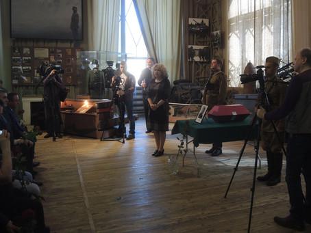 Спустя семь десятилетий. В Санкт-Петербурге прошла церемония прощания с бойцом Красной армии защищав