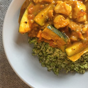Skin Programme - Coconut fish curry - p.