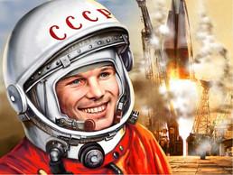 60 лет Первому полёту человека в Космос.