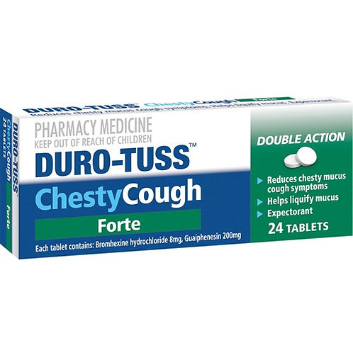 Duro-Tuss Chesty Cough Forte Tablets 24s