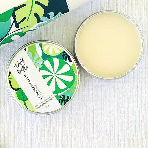 35g Tin: Pepperminty Deodorant Balm