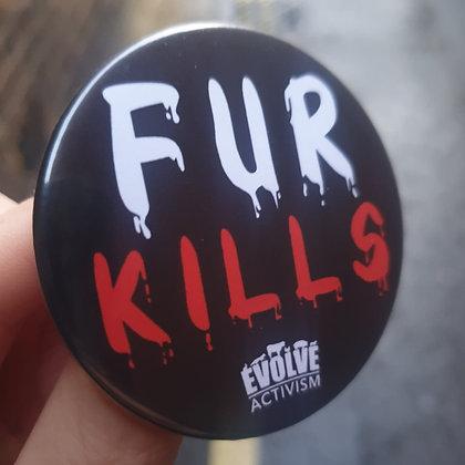 Anti fur badges