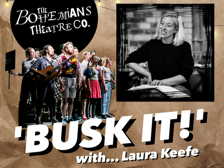 The Bohemians 'Busk it!' with Laura Keefe