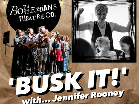 The Bohemians 'Busk it!' with Jennifer Rooney