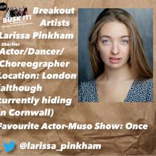 Larissa Pinkham