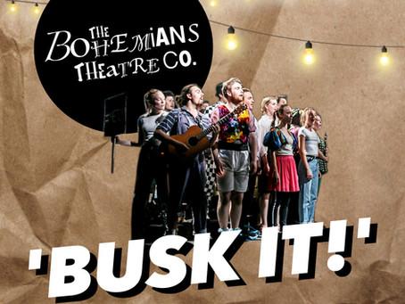 The Bohemians 'Busk it!' with Jeremy Harrison