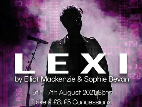 Lexi at the Camden Fringe 2021