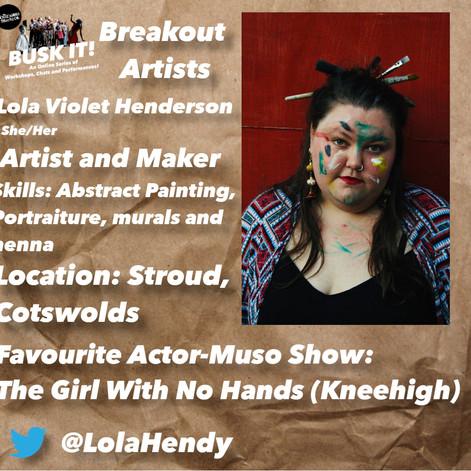 Lola Violet Henderson