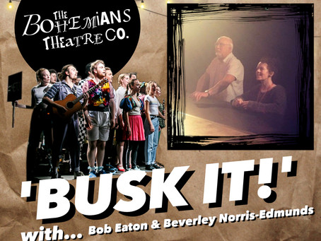 The Bohemians 'Busk it!' with Bob Eaton and Beverley Norris-Edmunds