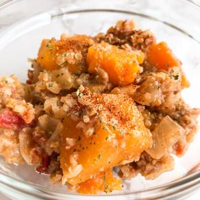 Crock Pot Butternut Squash    Turkey Chili