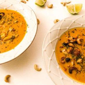 Chickpea and Coconut Curry Soup