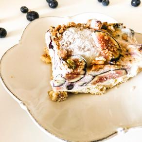 GF/DF Yogurt Fig Pie