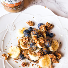 Banana Almond Butter Toast