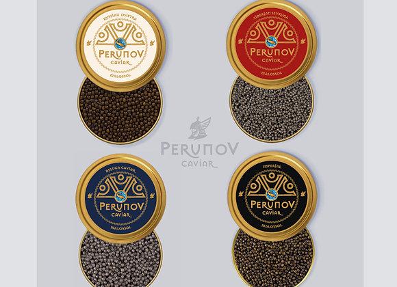 "4 x 30g Kaviar ""Quattro"" - Geschenkset"
