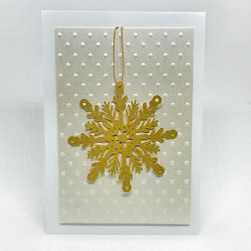 Cartão Floco de Neve
