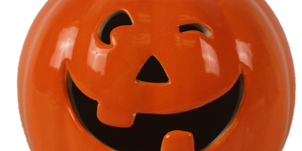 Drop-in Halloween Pottery Painting