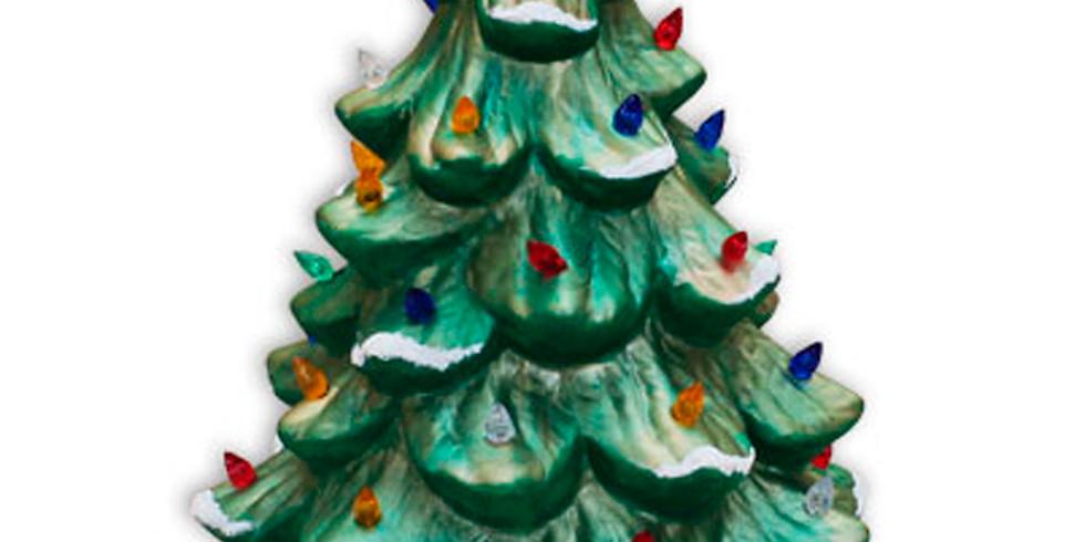 Lighted Christmas Trees 2