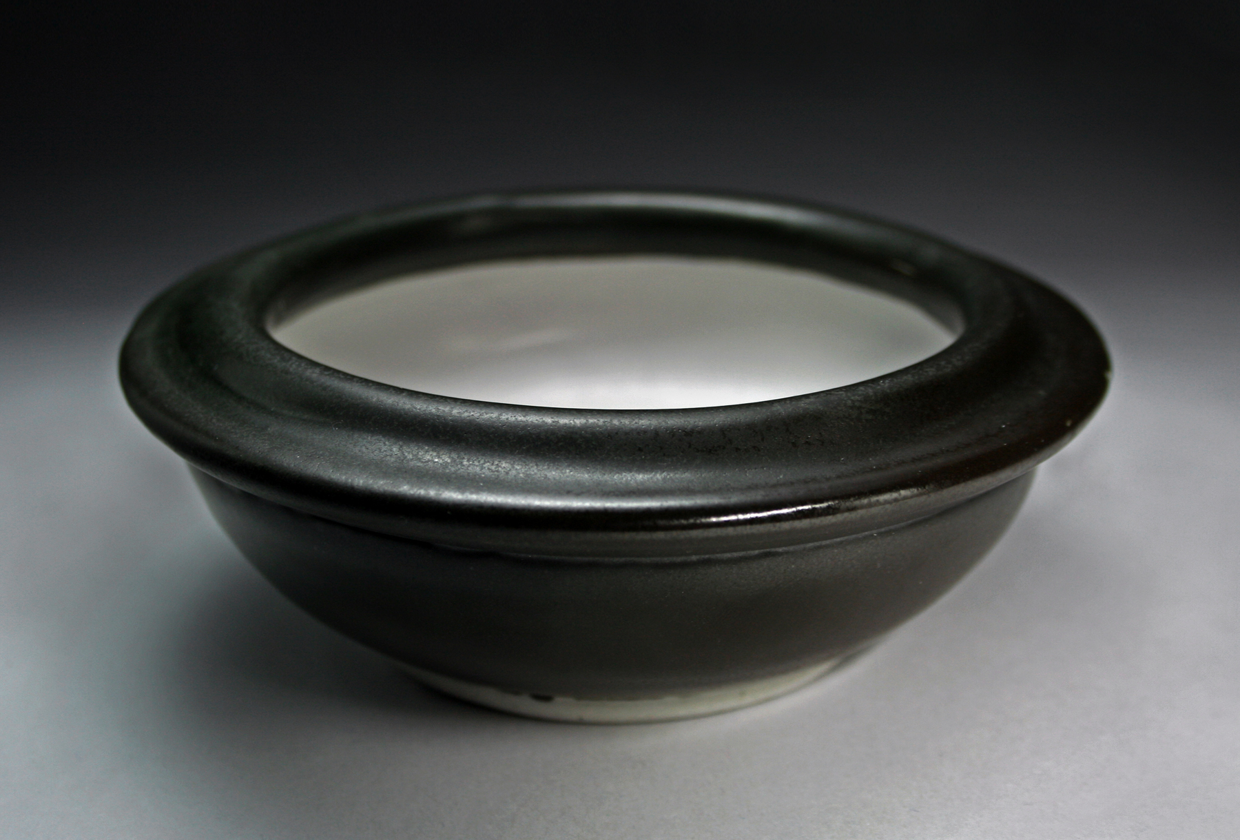 Double lipped bowl