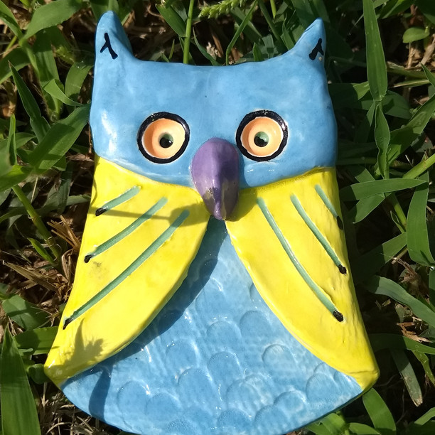 Origami Clay Owl Party